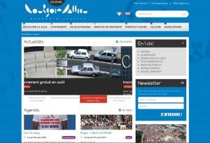 Site Internet de la mairie de Bourgoin-Jallieu