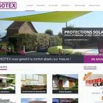 Site Internet société Isotex