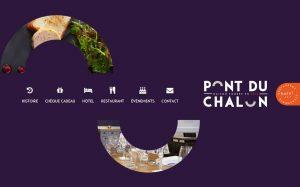 Site Internet du Pont de Chalon - Hôtel - Restaurant
