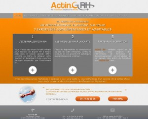 Site Internet d'ActinG RH