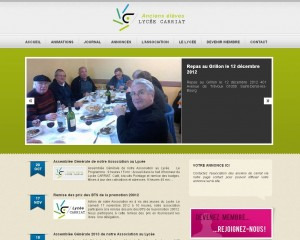 Site Internet de l'Association des Anciens Carriat