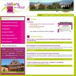 Site Internet de la Communauté de Commune des Vallons de la Tour