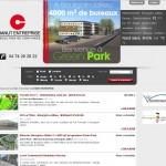 CHANUT Entreprise, site portail de diffusion des produits immobiliers