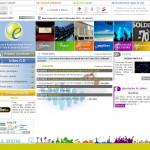 Site Internet du Comité d'Entreprise de Chubb Sécurité
