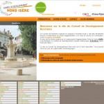 Site Internet du Conseil de Développement Nord Isère