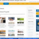 Site Internet de Proxadis développé sous WordPress