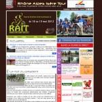Site Internet du Rhône-Alpes Isère Tour