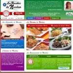 Site Internet pour la marque Les Recettes de Nurdan