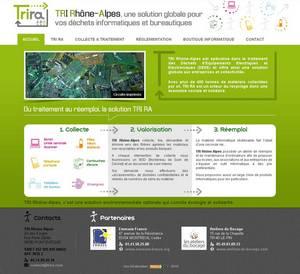 Site Internet de TRI Rhône-Alpes