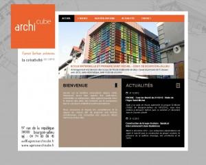Site Internet Archi Cube