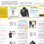Site Internet de vente ligne BGA Vêtements Professionnels
