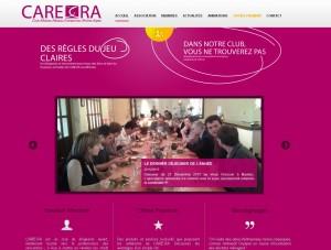 Site Internet de l'association CARE.RA