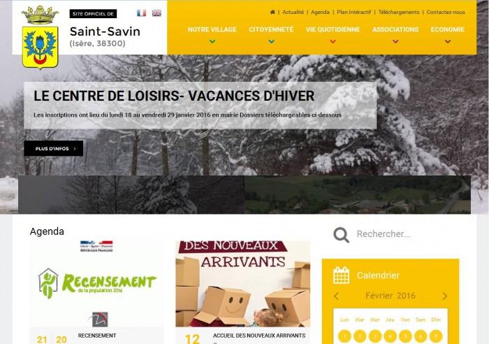 Site Internet de la mairie de Saint-Savin. www.mairie-st-savin.fr