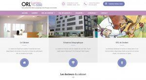 Site Internet du Cabinet ORL nord-sière